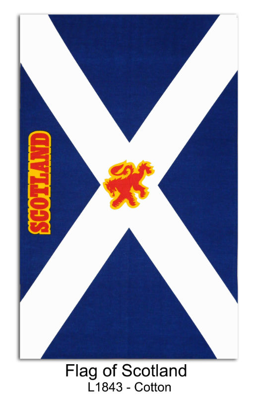 Scottish Tea Towels : FlagofScotlandCottonTeaTowelL1843 from www.teatowelsonline.co.uk size 520 x 808 jpeg 53kB
