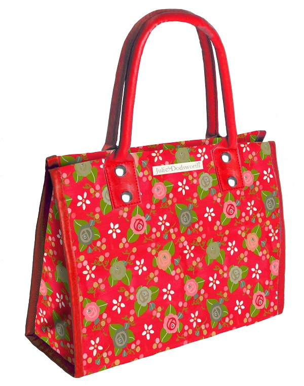 Rose Cottage PVC City Bag