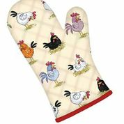 Chickens Cotton Oven Gauntlet