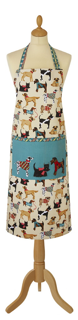 Hound Dogs Cotton Apron
