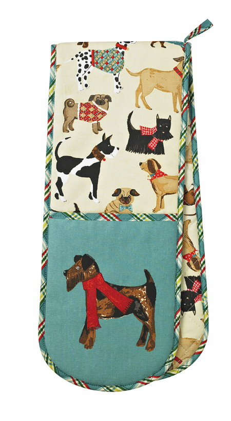Hound Dogs Double Oven Glove