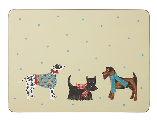 Hound Dog Placemats - Set of 4