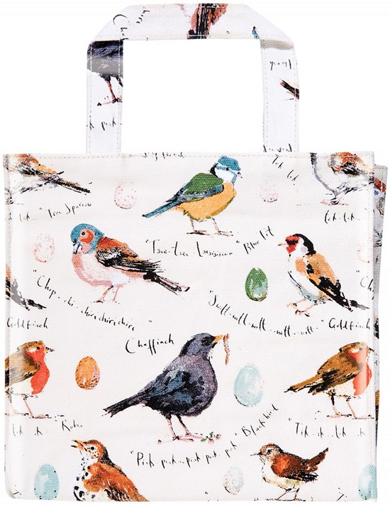 MF Birdsong PVC Small Bag