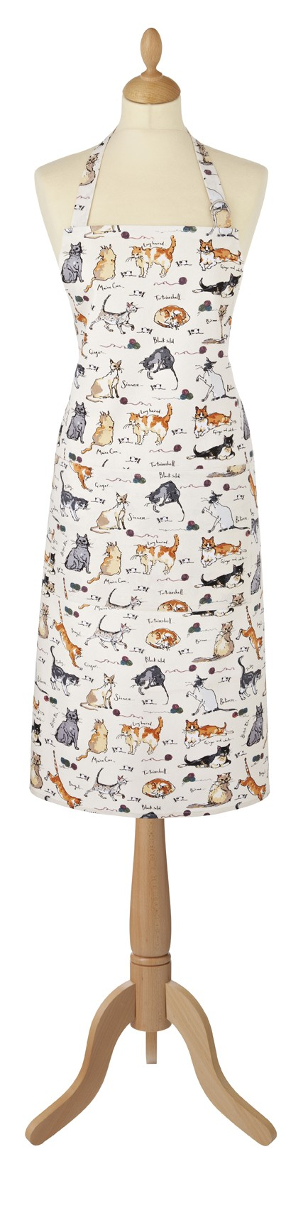 MF Cats Cotton Apron