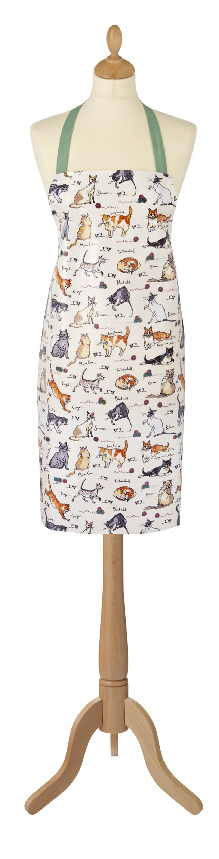 MF Cats PVC Apron