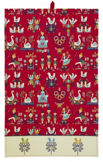 My True Love All Over Print Cotton Tea Towel