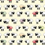 Sheepish Cotton Tea Towel