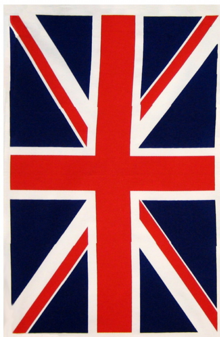 Union Jack Cotton Tea Towel