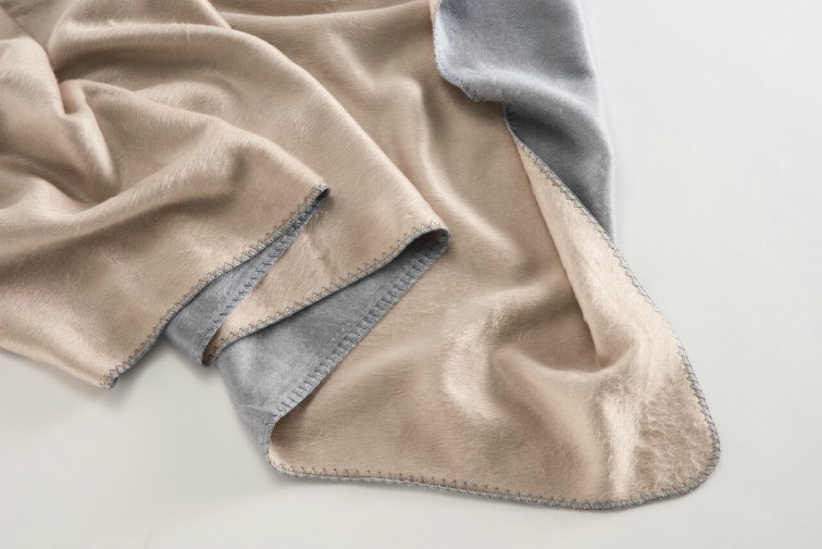 Bamboo Tan Plain Throw