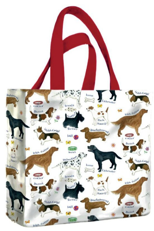 Dog Breeds PVC Mini Gusset Bag by McCaw Allan
