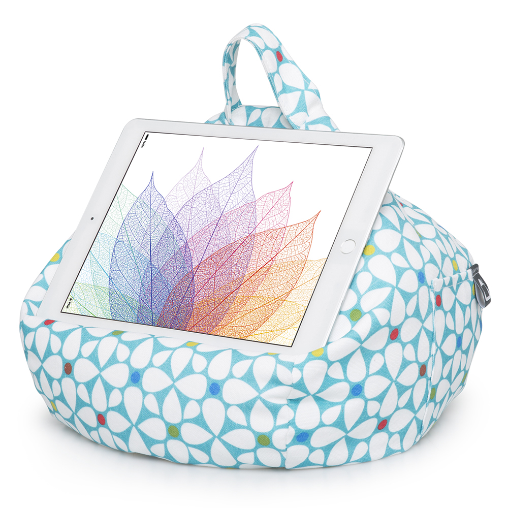 Geometric iPad and Tablet Bean Bag Stand