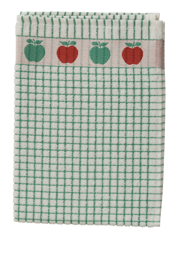 Poli-Dri Jacquard Tea Towel - Apples